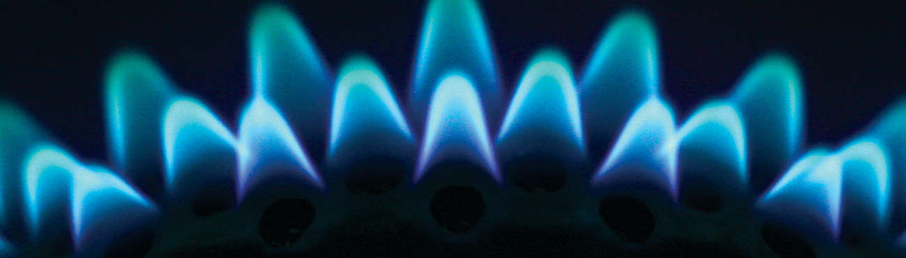 Sub Gas Flame Closeup
