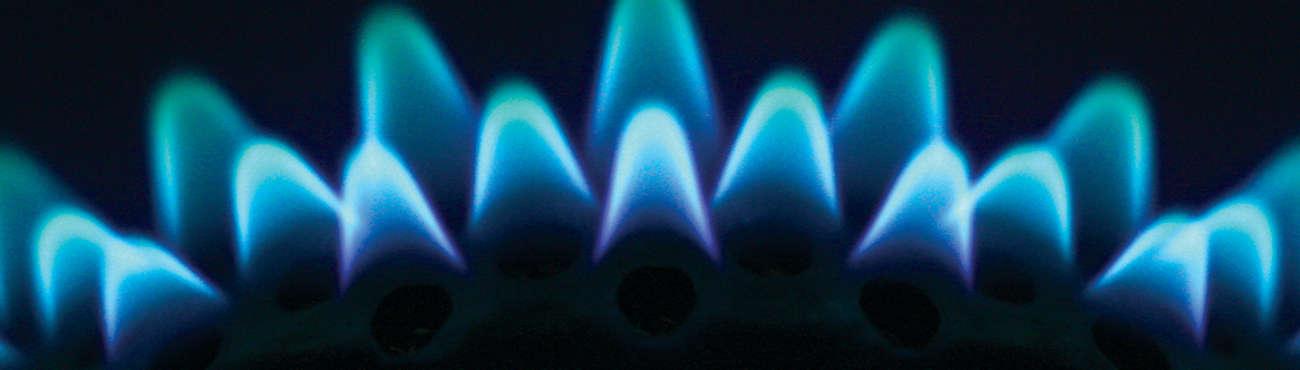 Sub Gas Flame Closeup