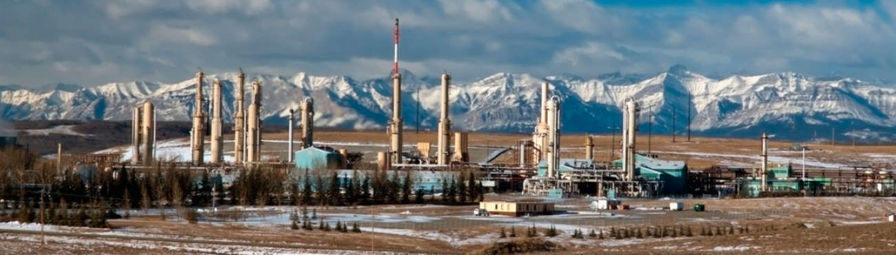 Sub Gas Plant Alberta
